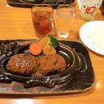 げんこつハンバーグ(炭焼きレストランさわやか 御殿場インター店 )