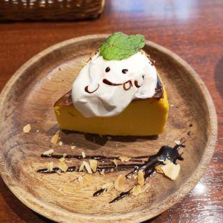 カボチャのチーズケーキ(カフェ スイッチ (Cafe SWITCH))