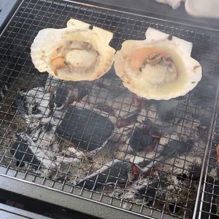 ホタテバター焼き(ゆりあげ港朝市)
