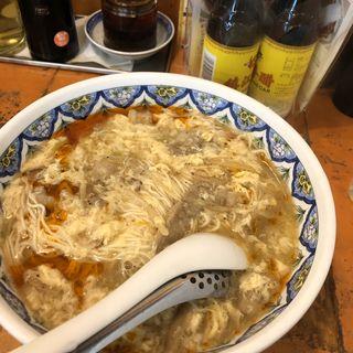 スーラー湯麺(中国ラーメン 揚州商人 昭島モリタウン店)