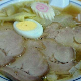 チャーシューワンタンめん(富士屋 古川本店 (ふじや))