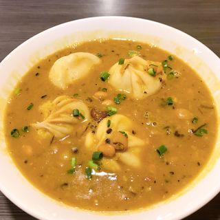 豆スープモモ(ネパール民族料理 アーガン)