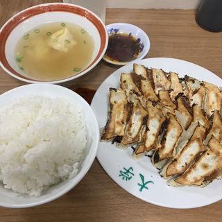ぎょうざ定食(ぎょうざ大学 (ぎょうざだいがく))