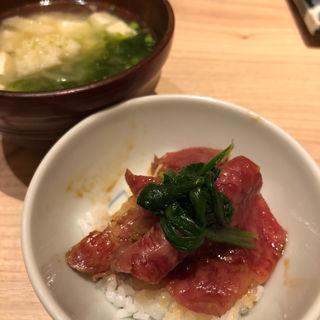 ステーキ丼(飯家 くーた 西中洲店 )