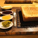 三種のジャムと北海道バター