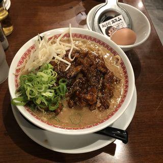 肉汁麺レベル2(肉汁麺ススム 高田馬場店)