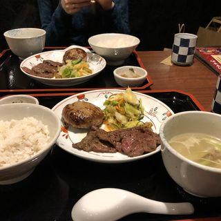 牛タン シチュー定食(牛たん焼き 仙台 辺見 キャナルシティ博多店)