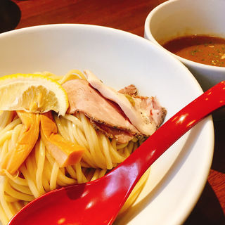 特製鶏白湯つけ麺(麺屋 翔 品川店 )