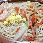 海老と野菜の焼きビーフン
