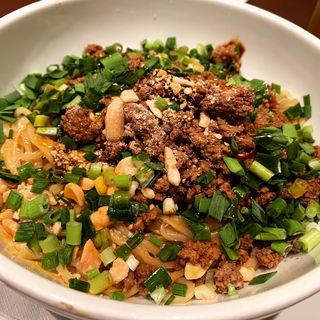 汁無担々麺(碧麗春 (チュウゴクシャンハイリョウリ ビーリィチュン))