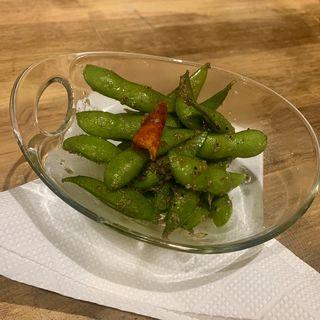 枝豆ペペロンチーノ(福岡トンテキポルコ)
