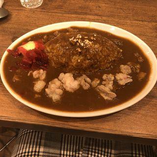 牛ホルモンカレー(串BAR くま食堂 )