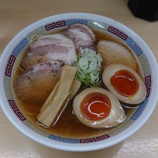煮干しラーメン (煮干鰮らーめん圓)