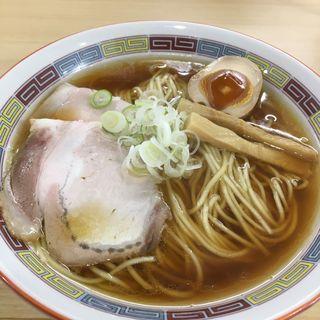 煮干しらーめん(煮干鰮らーめん 圓 名古屋大須店)