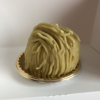 和栗のモンブラン