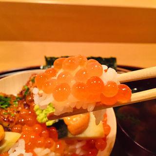 いくらご飯(料理 澤)