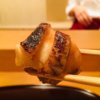 銚子産のどぐろの幽庵味噌焼き(料理 澤)