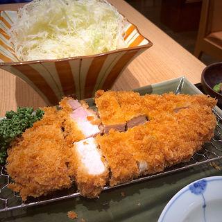 特ロースかつ膳(恵亭 タワーズプラザ名古屋店 (けいてい))