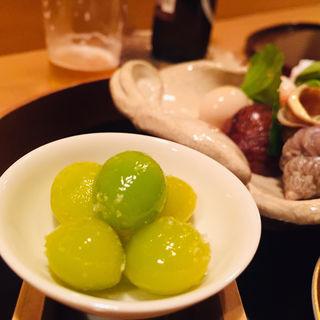炒り銀杏(料理 澤)