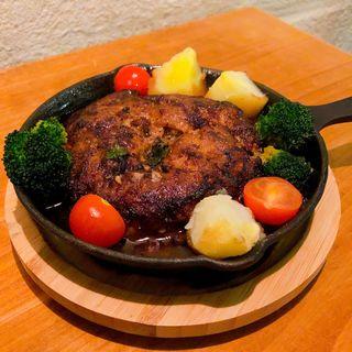 薬膳ラムハンバーグ(香食楽 (kakura カクラ))