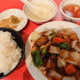 酢豚ランチ(龍苑)