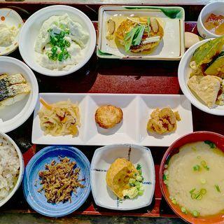 五ヶ山豆腐 御膳(五ヶ山豆腐)
