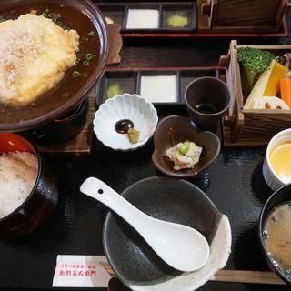 おぼろ豆腐の厚揚げセット(手作り豆腐 懐石料理 松竹五右衛門 清水店)