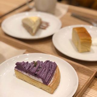 紫芋のタルト(カフェ&ミール ムジ 新宿 (Cafe&Meal MUJI))