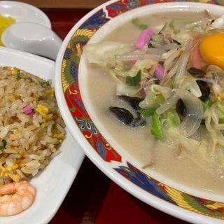長崎ちゃんチャン定食(中央軒 なんばCITY店 (チュウオウケン))