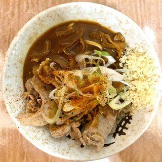 肉カレーそば(南天 本店 (なんてん))