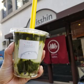 わらび餅ドリンク(和菓子 isshin (イッシン))