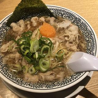 肉そば(丸源ラーメン 御膳松店 )