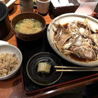 煮魚定食(魚匠 銀平 はなれ (ギンペイ))