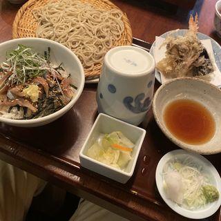 せいろとさんまのタタキ丼(吉祥庵 (キッショウアン))