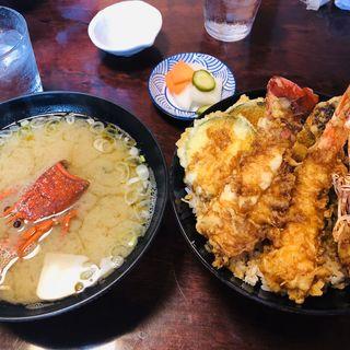 食べ比べ天丼(あき )