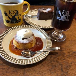 アイスコーヒー他(オサル コーヒー)