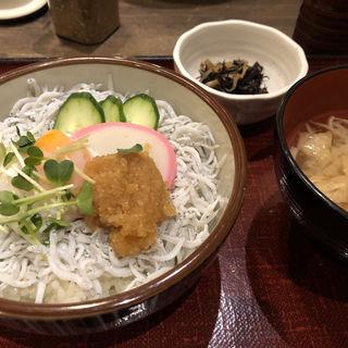 釜揚げしらす丼定食(然 大手町店 )