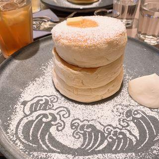 ふわふわリコッタチーズパンケーキ(ミカサデコ&カフェ神宮前 (MICASADECO&CAFE))