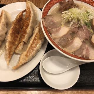 豚骨鶏白湯ラーメン 塩 特製(宙寅屋 東京ソラマチ店 (そらとらや))