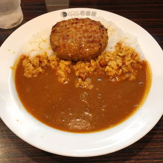 チーズハンバーグカレー(CoCo壱番屋 御徒町春日町店 (ココイチバンヤ))