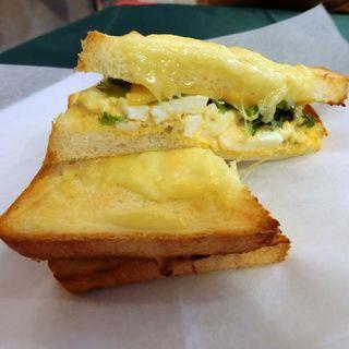チーズエッグサンド(プールジュール (pourjours))