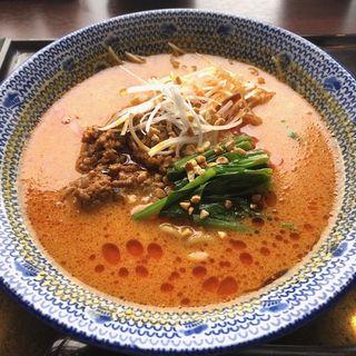 担々麺セット(西安餃子 アトレ大井町店 (シーアンギョウザ))