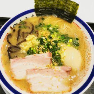 らーめん味玉入り(田中商店 ダイバーシティ東京プラザ店 )