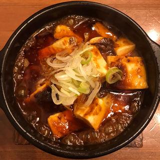 麻婆豆腐ランチ+追い餃子(餃子工房ギョイイイイイイン)
