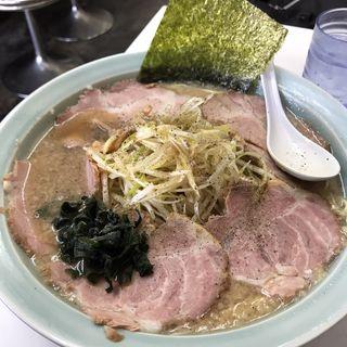 ねぎチャーシュー麺 中盛(椿 (つばき))
