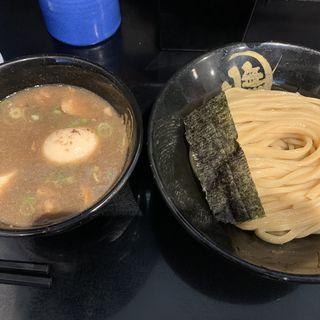 豚骨つけ麺(半熟味玉付)(無鉄砲 つけ麺 無心 (むてっぽう つけめん むしん))