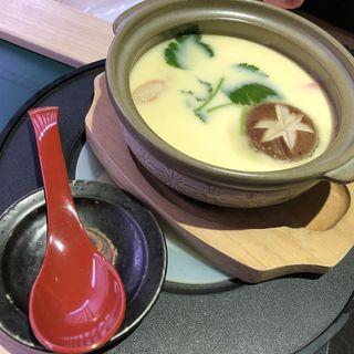海鮮茶碗蒸し(廻転寿司 平四郎 小倉駅アミュプラザ店)