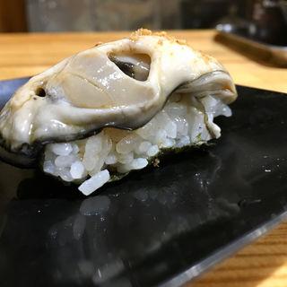 牡蠣の握り(マグロー )
