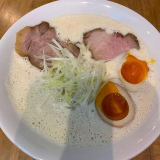 出し蕎麦(煮卵トッピング)(㐂蕎麦司 きし元)