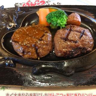 げんこつハンバーグ(炭焼きレストランさわやか 浜松高丘店 )